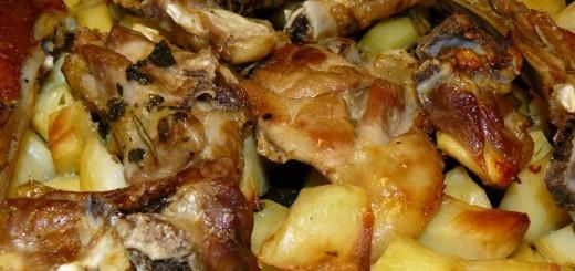 Agnello-al-forno-con-patate