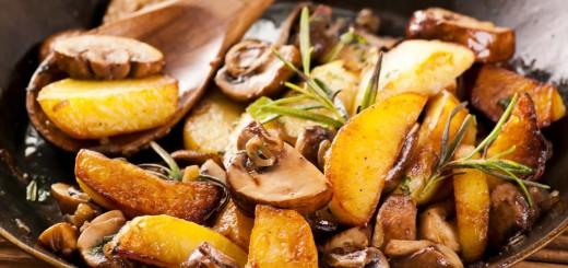 patate e funghi
