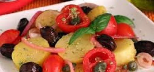 Insalata di patate alla siciliana