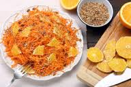 Insalata di carote e arance profumata alla cannella