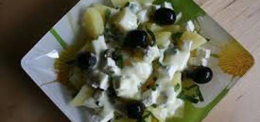 insalata greca di patate