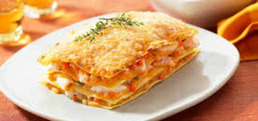 Lasagne gourmet con filetto di salmone