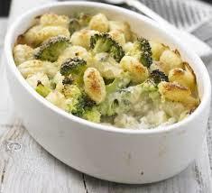 Sformato di gnocchi ai broccoli