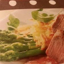 filetto di agnello con asparagi