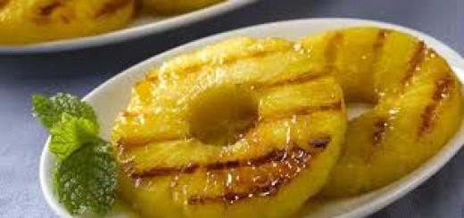 Ananas alla griglia