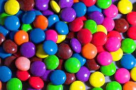 Orsetto di cioccolato con smarties