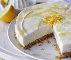 Torta di formaggio al limone