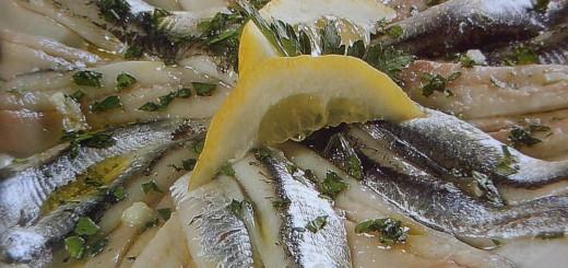 Sardine marinate al limone