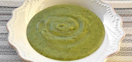 Crema di zucchine alla ligure