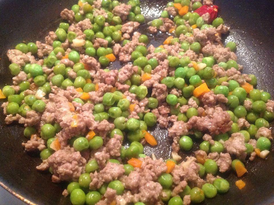Famoso Ricetta | Carne macinata e piselli | La cucina di Bacco XG15
