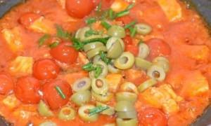 Ragù alle olive verdi