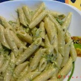 penne alla crema di asparagi