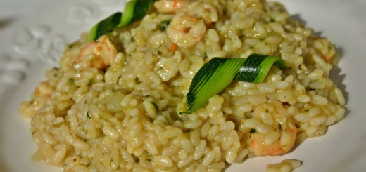 risotto-gamberi-e-zucchine