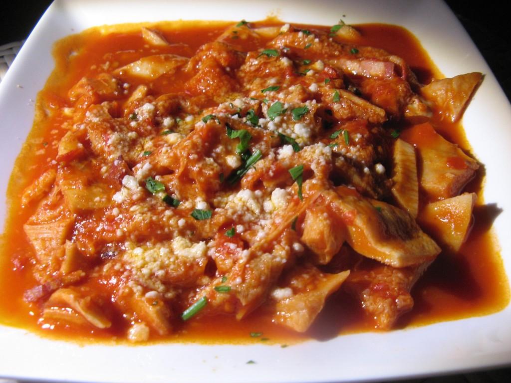 Trippa di maiale al sugo la vera ricetta calabrese anche in bianco la cucina di bacco for Cucina tipica romana ricette