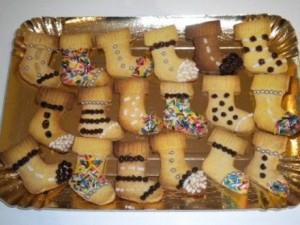 biscotti di pasta frolla della Befana