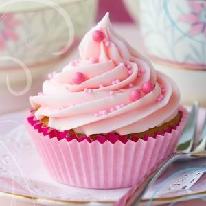 Muffin alla vaniglia per Carnevale