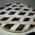 Crostata con la marmellata d'uva