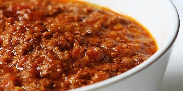 Ricetta Ragu Macinato.Ragu Di Carne Marchigiano La Cucina Di Bacco