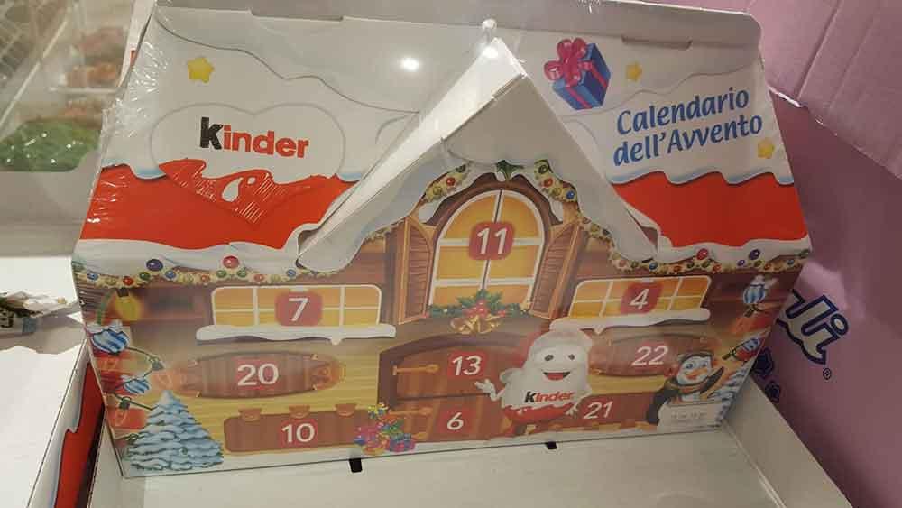 Calendari dell'Avvento Kinder 2018: prezzo e contenuto ...