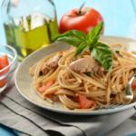 spaghetti allo sgombro
