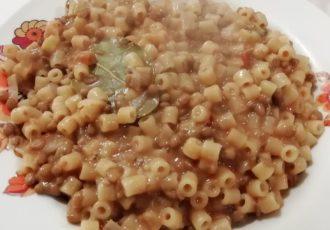 Pasta e lenticchie alla calabrese 1