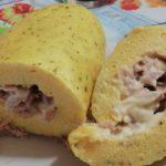 Rotolo di frittata con tonno e maionese 1