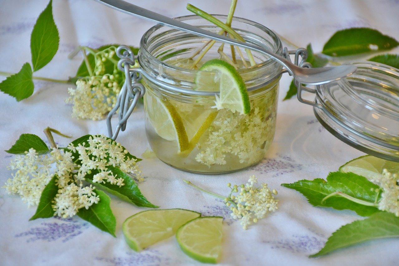 Gelatina di fiori di sambuco 1