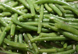 Fagiolini verdi in insalata alla calabrese