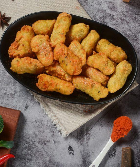 Verdure impanate fritte